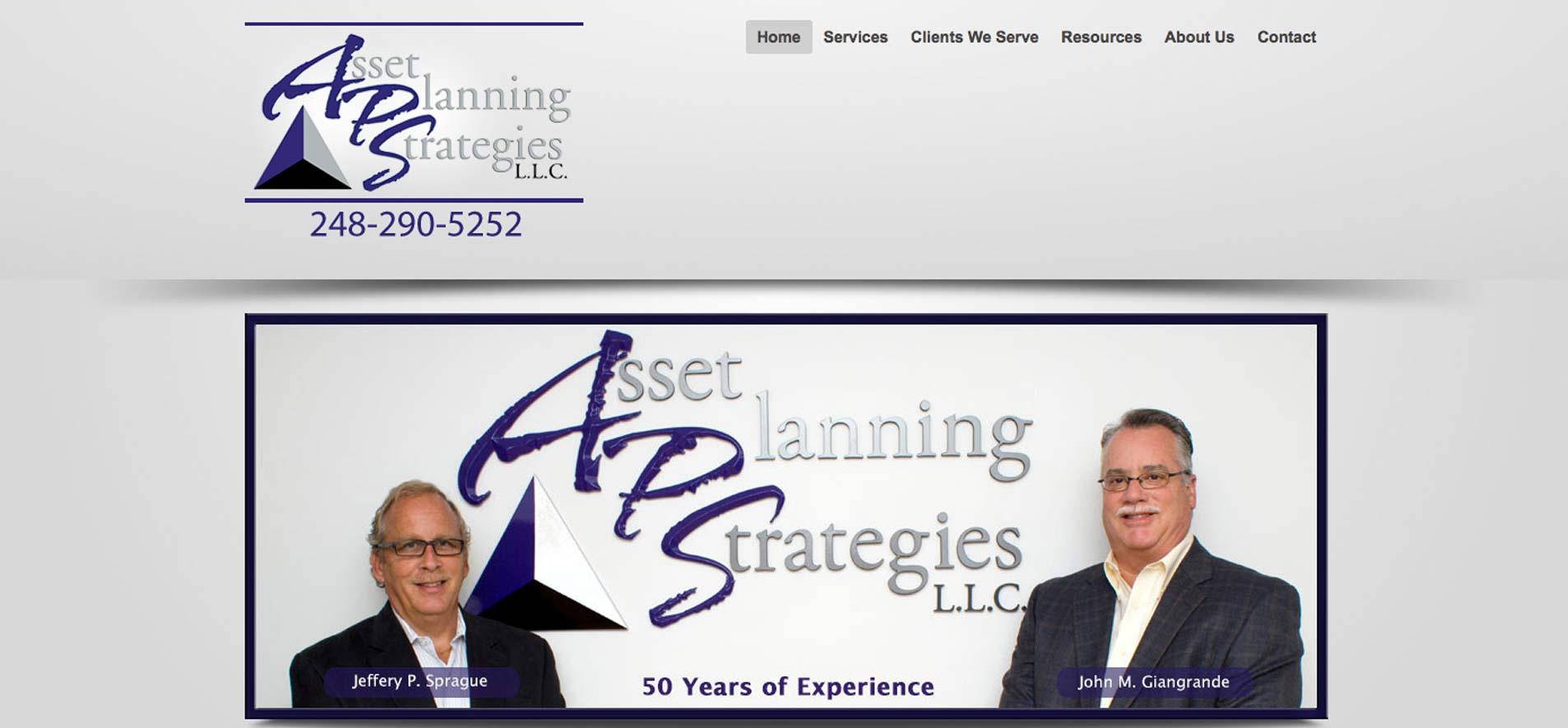 Asset Planning Strategies
